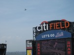 Planes alter their course so as not to fly over Citi Field during a game!