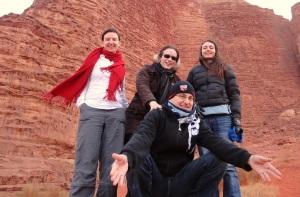 In front of Khazali Canyon
