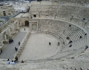 Amphitheatre in central Amman - also courtesy of those Romans.