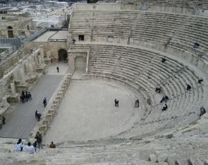Amphitheatre in central Amman - also courtesy of those Romans.