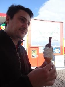 99 Flake Ice Cream cone