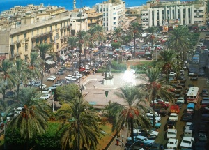 Beirut's Place des Martrys in the 1960s