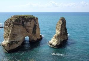 Pigeon Rock, Beirut