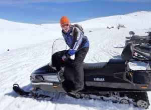 Snowmobiling in Faraya