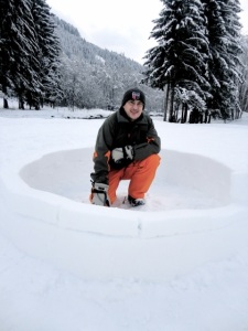 Igloo making #2