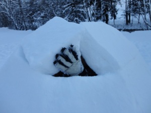 Igloo making #3