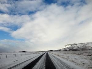 Snæfellsnes peninsula road