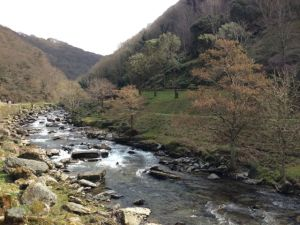 The river Lyn on the way to Watersmeet