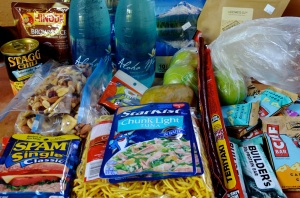 hiking food