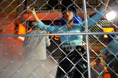 Girl police Sitges Rua de Disbauxa