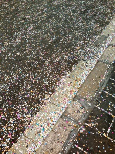 Carnival carnage... streets of confetti