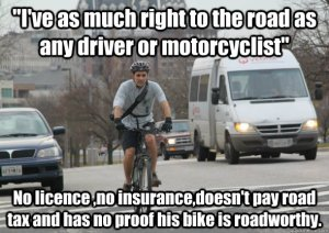 From Scumbag Cyclist Memes