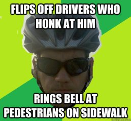 From Angry Cyclist Memes