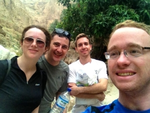 Wadi Shab selfie!
