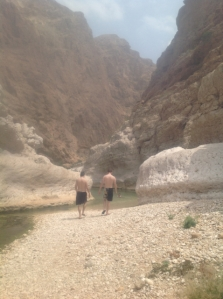 Leaving the wadi