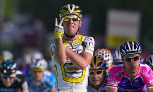 Mark Cavendish (Photograph: Fabrice Coffrini/AFP/Getty Images via The Guardian)