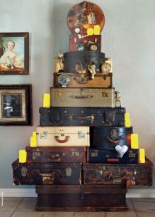 Of course if everybody has vintage luggage that helps a lot..
