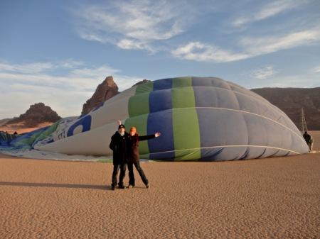 Still inflating..