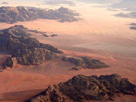 Wadi Rum from above 2